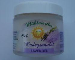 Badegranulat Lavendel