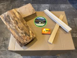 Ofen-/Kamin-/Feuerschalenholz 20cm inkl. Anzündmaterial