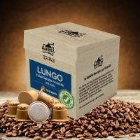 Lungo - Kaffeekapseln aus Holz