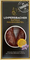 Loipersbacher Safranhauswürstel   PLU 2270