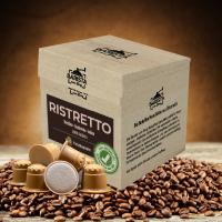Ristretto - Kaffeekapseln aus Holz