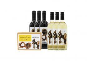 Weinköpfchen-Set: Das Wein-Quiz - versandkostenfrei