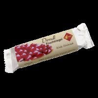 Dirndl-Fruchtriegel (Weiße Schokolade)