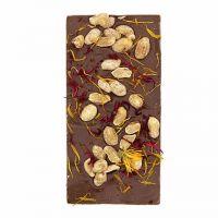 Ritonka Milchschokolade - Salzige Erdnüsse mit Blüten