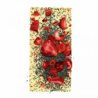 Ritonka weiße Schokolade - Mohn, Erdbeere