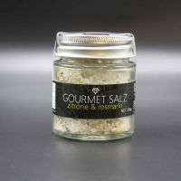 Gourmet Salz; Zitrone - Rosmarin