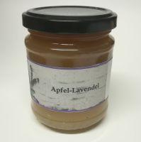 Apfel Lavendel Fruchtaufstrich