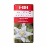 """I am from Austria"" - Motiv: Edelweiss"