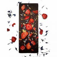 Gourmet Selection Bitterschoko Erdbeere, Ringelblume, Gold