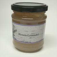 Birne Lavendel Fruchtaufstrich