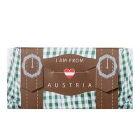 """I Am From Austria"" - Lederhosn-Schoko"