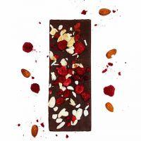 Gourmet Selection Bitterschokolade, Himbeere, Mandel, Zimt