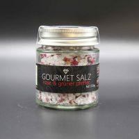 Gourmet Salz; Rose - grüner Pfeffer
