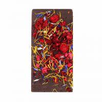 Ritonka Bitterschokolade - Himbeeren, Blüten