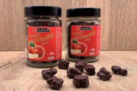 Apfelino Schoko-Knusperwürfel 80 g im Glas