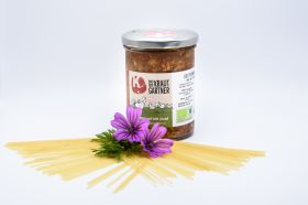 Putensauce Bolognese mild im Glas
