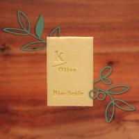 Bio-Olivenöl-Seife