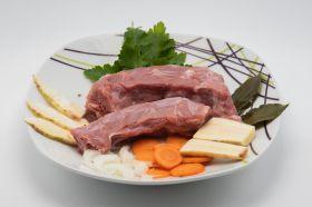 Suppenknochen von der Glückspute (ohne Gemüse)