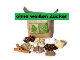 Nussbacher Nussgeistgewürzmischung ohne weißen Zucker