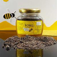 Bio Honig mit Waldviertler Mohn