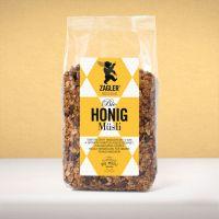 Bio Honigmüsli - knusprig gebacken