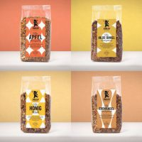 Honey Love Package - verschiedene Bio Honigmüsli varianten