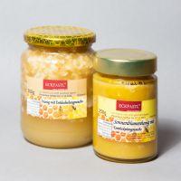 Honig mit Wachs