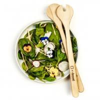 Salatbesteck aus Bregenzerwälder Kernesche