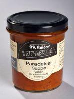 Paradeiser Suppe im Glas