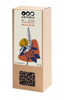 Bio Gewürz afrikanischer Basilikum Blüten