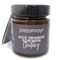 Rote Zwiebeln-Portwein Chutney