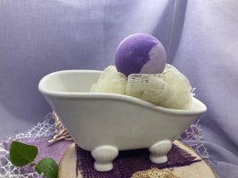 Funky-Badekugel Lavendel