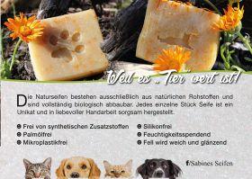 Tier-  Hundeseife  Palmölfrei - Vegan
