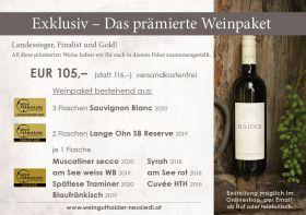 Exklusiv - Das prämierte Weinpaket