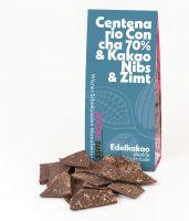 70% Centenario Concha  & Kakao Nibs & Zimt
