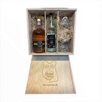 Ginmilla Premiumbox Gruam Distilled Gin (im Holzfass gereift