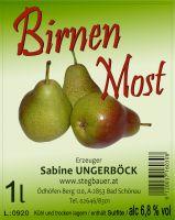 Birnen Most