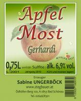 Apfelmost Gerhardi