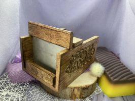 "Seifenschneider aus Mangoholz ""Antique"""