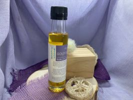 Massageöl Sandelholz-Schimmer