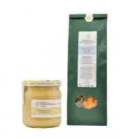 Setangebot Honig & Tee