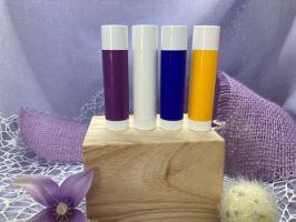 Lippenpflegehülsen 4 Farben