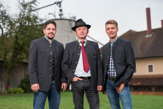 Manuel, Franz Josef und Stefan Grillmair