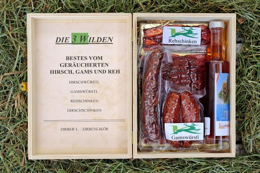 Geschenke mit Geschmack: Die 3 Wilden - Kiste Gerä...