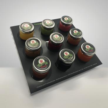 9er Set Fruchtaufstriche/Chutney