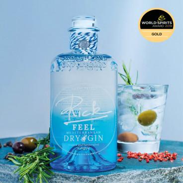 Rick Feel Mediterranean Dry Gin Gold World Spirit ...