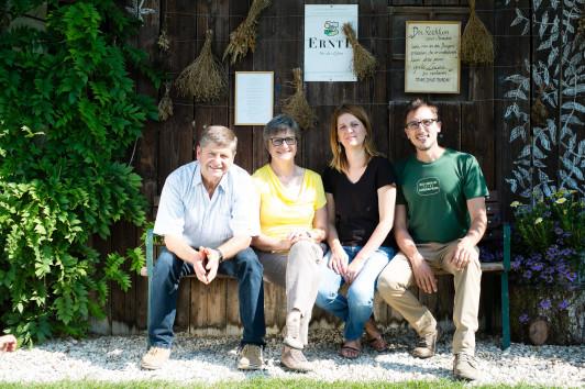 Josef und Margit Nuart führen den Biobauernhof sei...