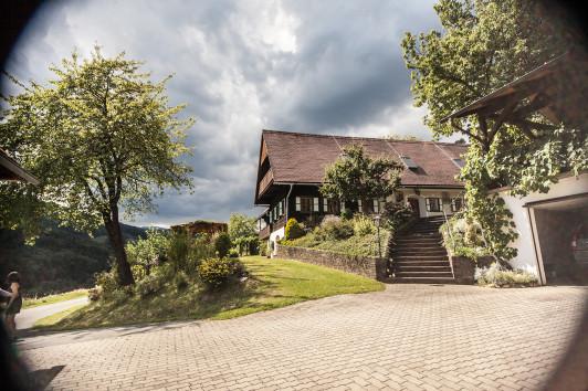 Das urige Bauernhaus aus dem 17. Jahrhundert im Ho...