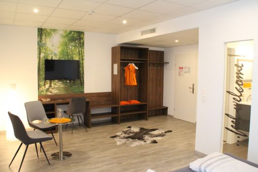 Nemetz-Motel Zimmer