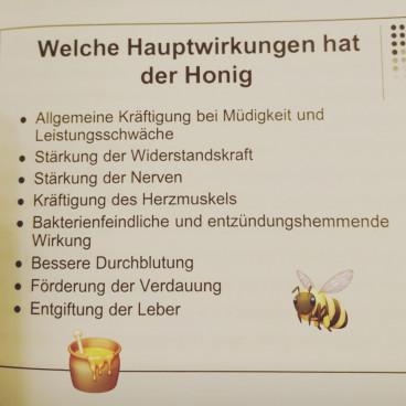 Der Bio Honig...